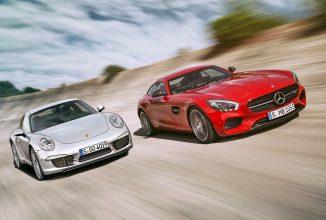 O poveste de rivalitate dintre celebrul Porsche 911 și seria AMG GT a celor de la Mercedes; Aflați evoluția seriei AMG GT!
