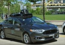 Prima maşină autonomă Uber e fotografiată, testată şi e un Ford Fusion hibrid