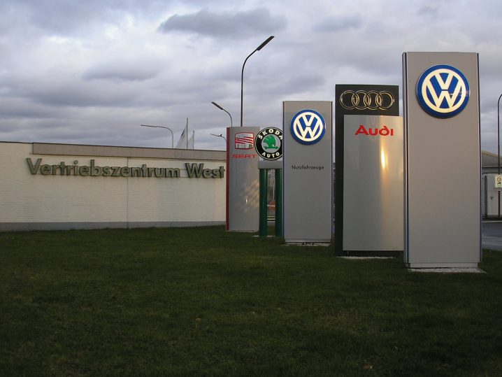 Volkswagen group fotografie