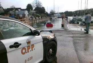 O femeie a intrat cu maşina în lac după ce a urmat orbeşte indicaţiile GPS-ului