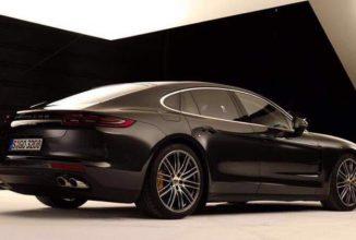 Noul Porsche Panamera apare în ipostaze incendiare înaintea lansării de săptămâna viitoare