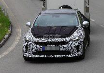 Imagini spion cu noul Kia GT; Sedanul sud-coreean arată foarte bine si va concura cu modele germane