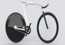 Bicicleta printată 3D; Se adaptează perfect biometricii umane