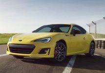 Noua serie Subaru BRZ Series.Yellow; Modificări mărunte pentru modelul în ediție limitată