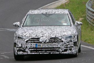 Noul Audi A8 se arată la Nurburgring; Aduce un nou design şi e gata să concureze cu BMW şi Mercedes