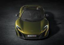 McLaren 675LT Spider devine şi mai exclusivist; Primeşte un nou model fabricat din fibră de carbon