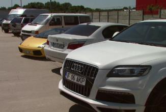 Modele Lamborghini şi Jaguar scoase la vânzare de ANAF cu preţuri de pornire foarte accesibile