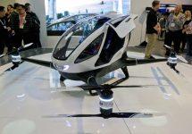 Drona cu pasager primeşte permisiunea unui zbor de test; Un nou vehicul personal de transport?