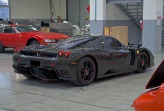 Ferrari Enzo primește o versiune fabricată din fibră de carbon pură; Cât costă varianta exotică?