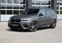 BMW X5 M devine mai puternică decât un Lamborghini Aventador după o vizită la centrul G Power