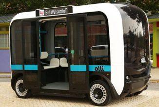 Local Motors prezintă un mini-autobuz autonom denumit Olli; vine cu tehnologia IBM Watson