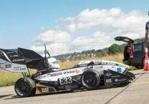 Maşinuţa electrică Grimsel stabileşte un record de acceleraţie, atingând 100 km/h în 1.5 secunde (Video)