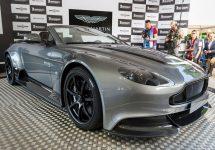 Aston Martin GT12 Roadster este un model unicat; Cum arată bolidul decapotabil fabricat special pentru un client al companiei