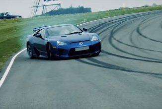 Vechiul Stig pune la test trei dintre cele mai bune maşini ale celor de la Lexus