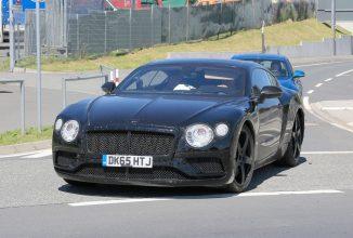Imagini spion cu noul Bentley Continental GT Coupe apar la Nürburgring; Cum arată și ce schimbări aduce noul model