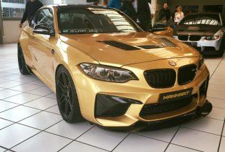 BMW sărbătoreşte aniversarea specialistului în tuning, Manhart prin lansarea unui M2 de 630 CP