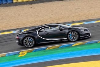 Faimosul Bugatti Chiron e cu 37 km/h mai rapid decât cea mai vitezomană maşină din cursa de la Le Mans