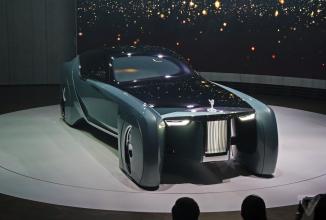 Rolls-Royce Vision 100 concept e un concept fantezist, elegant şi… aniversar, un tribut de centenar BMW (Video)