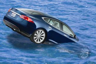 Tesla ar pregăti un automobil sportiv capabil să meargă și pe…apă!