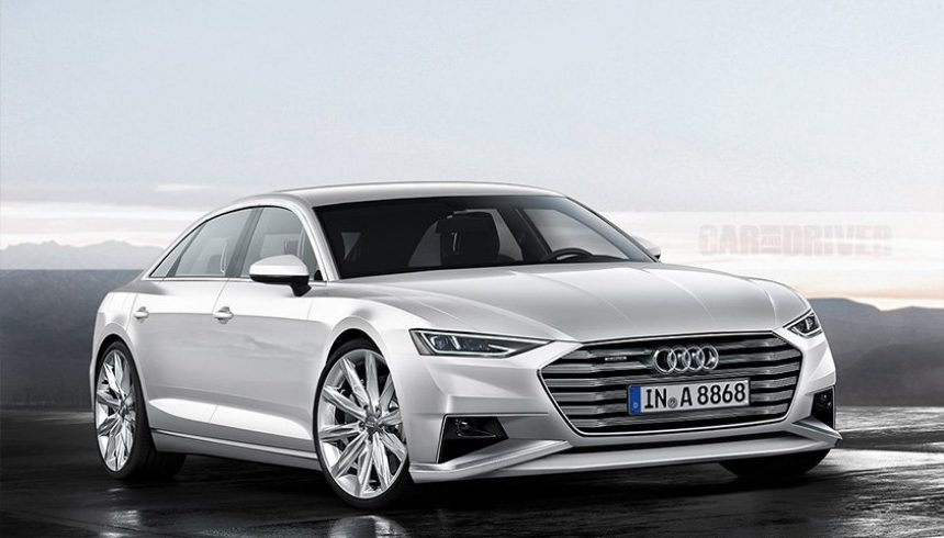Noul Audi A8 (2018)