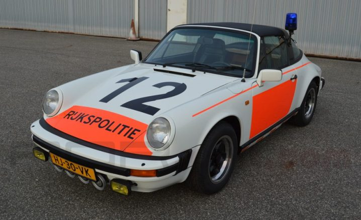 1983 Porsche 911SC Dutch Police car