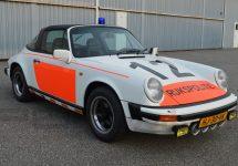 Acest Porsche 911 al poliției olandeze este scos la pensie, dar şi la vânzare pentru un preț măricel