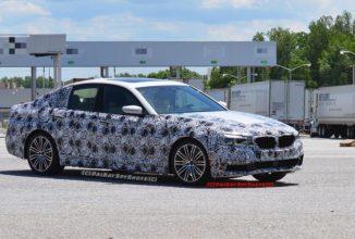 Noul BMW G30 seria 5 este văzut în sudul Californiei îmbrăcat în pachetul M Sport