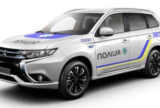 Poliția din Ucraina comandă 651 Mitsubishi Outlander PHEV; Ucrainienii se echipează cu vehicule hibride