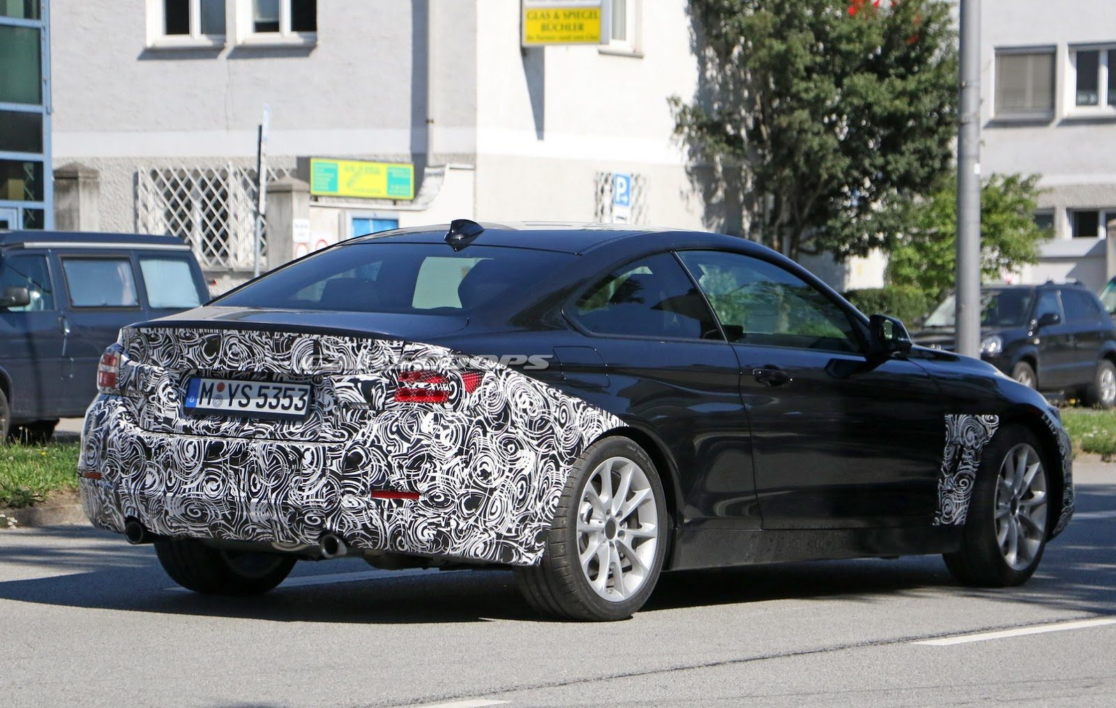 BMW 4 Coupe Facelift 10