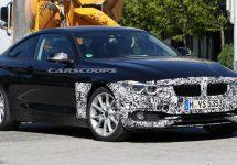 BMW Seria 4 primeşte fotografii spion şi vine cu modificări de design în stilul variantei cu facelift Seria 3