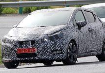 Poze spion cu următoarea generație Nissan Micra; Micul hatchback este mai arătos ca niciodată