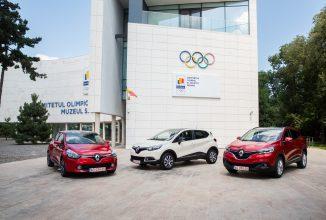 Renault lansează ediţiii speciale de modele Kadjar, Captur, Clio cu ocazia Olimpiadei de la Rio sub numele Renault Olimpic