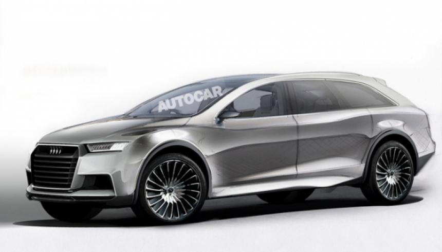 Noul Audi Q8 (2016)