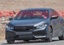 Poze spion ne dezvăluie Honda Civic Si (2017); Noul coupe arată impresionant