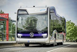 Transportul public devine autonom; Autobuzul Future Bus, fabricat de Mercedes face o excursie de 20 km prin Amsterdam