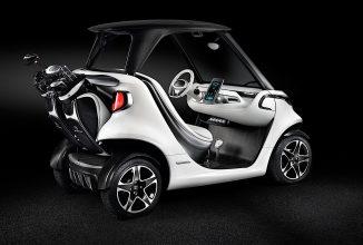 Mercedes-Benz colaborează cu creatorul de maşinuţe de golf Garia pentru a crea un concept inedit de golf cart