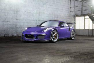 Un Porsche 911 GT3 RS Ultraviolet Blue primește un tratament special din partea celor de la Techart
