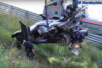 Un Koenigsegg One:1 este făcut praf în urma unui accident la Nurburgring în timp ce se pregătea de doborârea recordului