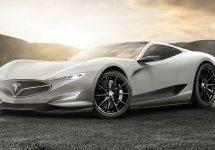 Tesla Model R: posibila viitoare hipermașină Tesla arată fenomenal în aceste randări