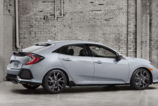 Noul Honda Civic hatchback 2017 iasă la lumină cu motor turbo, transmisie manuală și design atrăgător