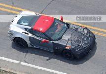 Poze spion cu Chervolet Corvette ZR1 2018; Noi detalii despre viitoarea singură mașină sport construită în America