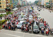Autoritățile din Vietnam ar putea interzice motocicletele în capitală până în anul 2025
