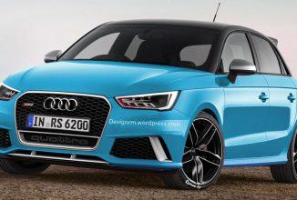 Audi RS1 2017 va aduce tracțiune integrală și un plus de putere pentru a concura cu Mini Cooper