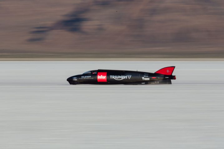 The world's fastest Triumph - the Triumph Infor Rocket Streamliner