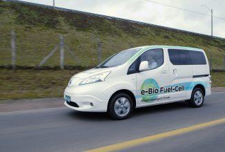 Nissan a prezentat un prototip ce folosește o nouă sursă de energie verde