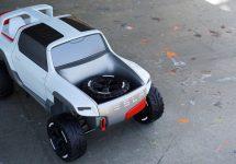 Tesla Model P primeşte o serie de randări agresive şi ce amintesc de un Mars Rover