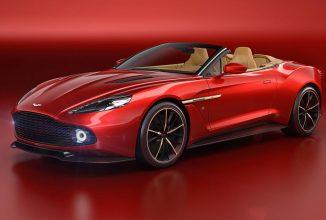 Aston Martin prezintă modelul Vanquish Zagato Volante, varianta decapotabilă a coupe-ului în ediție limitată