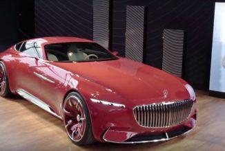 Mercedes-Maybach ridică cortina de pe conceptul Vision 6; Cum arată și ce aduce limuzina electrică de peste 5 metri