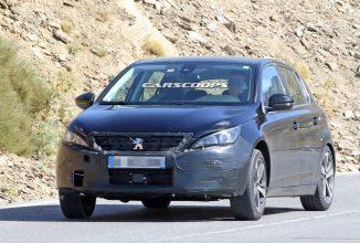Poze spion cu următoarea generație Peugeot 308; Noul model vine cu schimbări de exterior mici și posibil noi motoare mai eficiente