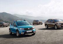 Dacia prezintă o fotografie cu modelele restilizate din gamă ce vor fi prezentate în cadrul Paris Motor Show 2016!